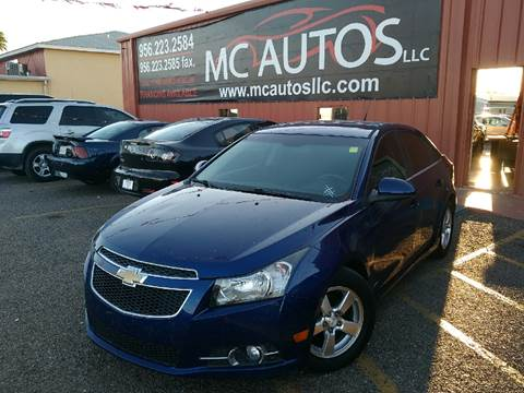 2012 Chevrolet Cruze for sale at MC Autos LLC in Palmview TX