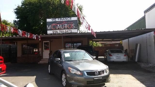 2008 Honda Accord for sale at MC Autos LLC in Pharr TX