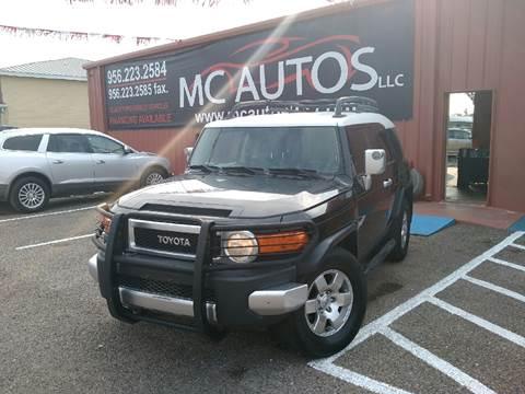 2007 Toyota FJ Cruiser for sale at MC Autos LLC in Palmview TX