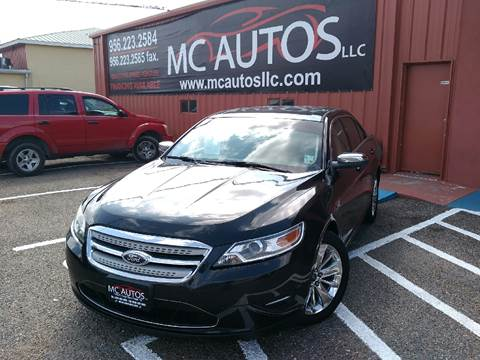 2010 Ford Taurus for sale at MC Autos LLC in Palmview TX