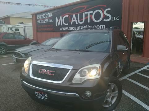 2008 GMC Acadia for sale at MC Autos LLC in Pharr TX