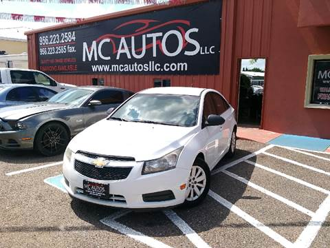 2011 Chevrolet Cruze for sale at MC Autos LLC in Palmview TX