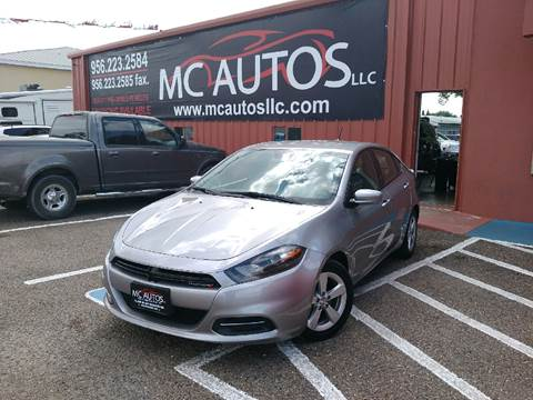 2015 Dodge Dart for sale at MC Autos LLC in Palmview TX