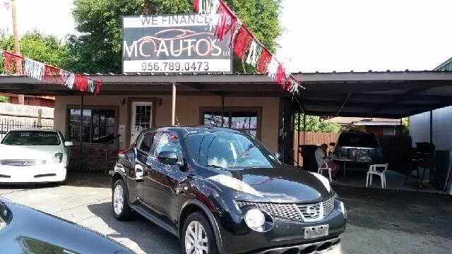 2012 Nissan JUKE for sale at MC Autos LLC in Pharr TX