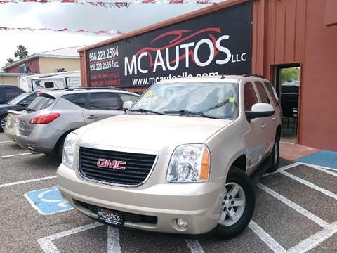 2010 GMC Yukon for sale at MC Autos LLC in Palmview TX