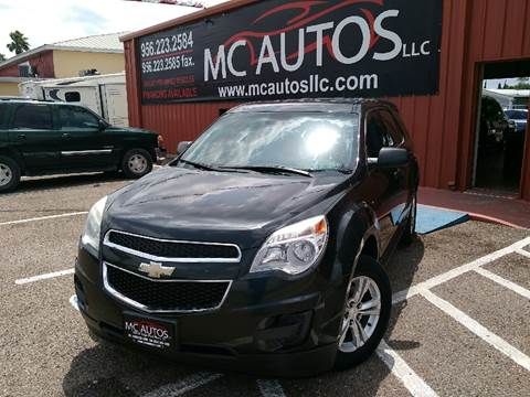 2013 Chevrolet Equinox for sale at MC Autos LLC in Palmview TX