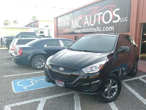 2015 Hyundai Tucson for sale at MC Autos LLC in Palmview TX