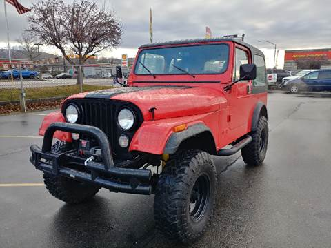 1983 Jeep CJ-7 for sale in Boise, ID