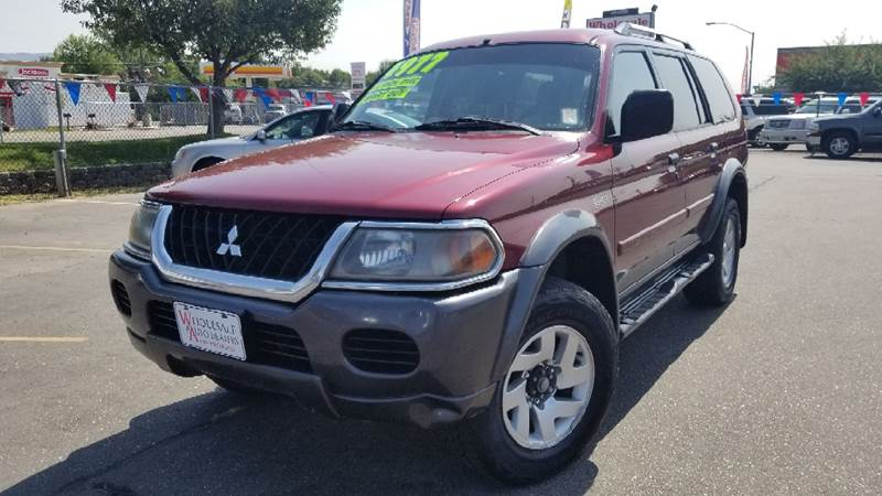 2004 Mitsubishi Montero Sport For Sale At Wholesale Auto Dealers In Boise ID