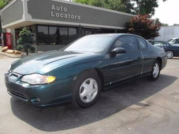 2000 Chevrolet Monte Carlo for sale in Louisville, TN