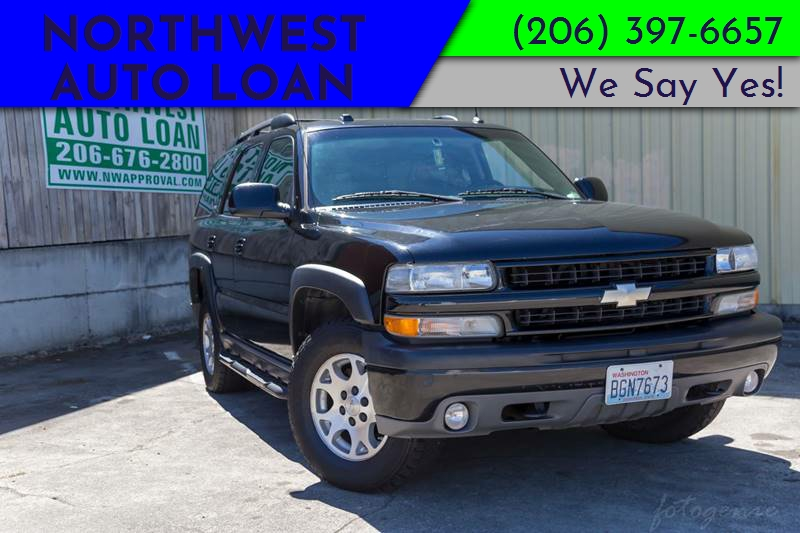 2005 Chevrolet Tahoe For Sale At NORTHWEST AUTO LOAN In Tacoma WA