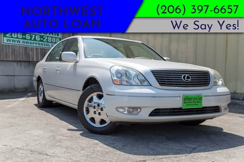 2002 Lexus LS 430 For Sale At NORTHWEST AUTO LOAN In Tacoma WA