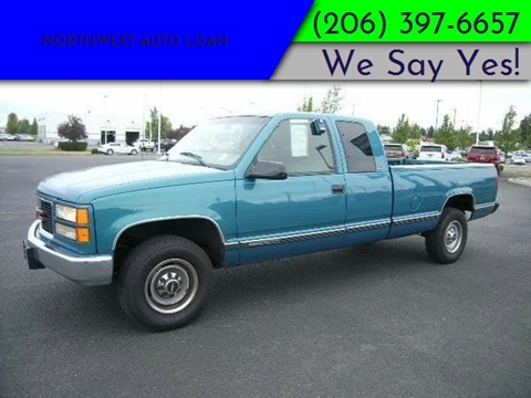 1997 GMC Sierra 2500 for sale in Tacoma, WA