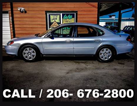 2001 Ford Taurus for sale in Tacoma, WA