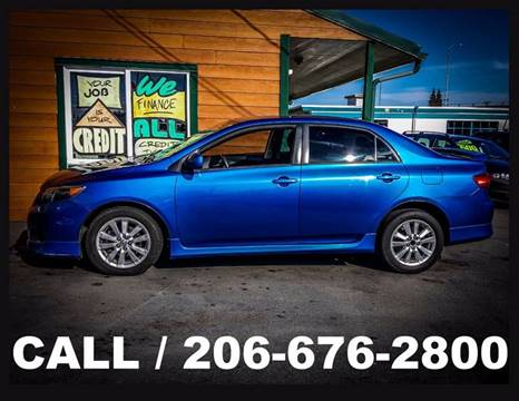 2009 Toyota Corolla for sale in Tacoma, WA