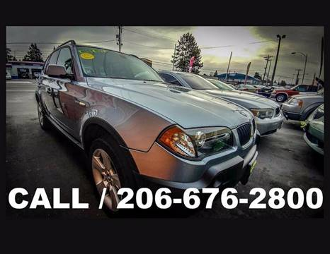2005 BMW X3 for sale in Tacoma, WA