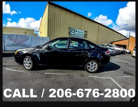 2008 Ford Focus for sale in Tacoma, WA