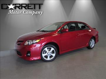 2011 Toyota Corolla for sale in Houston, TX