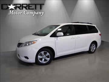 2013 Toyota Sienna for sale in Houston, TX