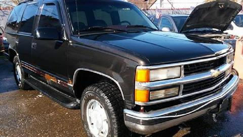 1996 Chevrolet Tahoe for sale in Highland Park, MI