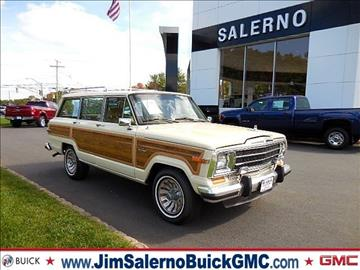 1986 Jeep Grand Wagoneer for sale in Randolph, NJ