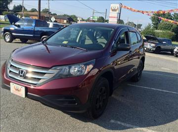 2013 Honda CR-V for sale in Lynchburg, VA