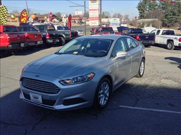 2014 Ford Fusion for sale in Lynchburg, VA