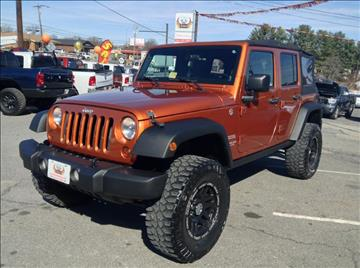 2011 Jeep Wrangler Unlimited for sale in Lynchburg, VA