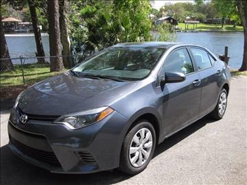 2015 Toyota Corolla for sale in Fort Walton Beach FL