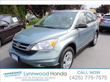 2010 Honda CR-V for sale in Edmonds, WA