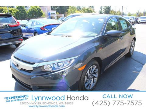 2017 Honda Civic for sale in Edmonds, WA