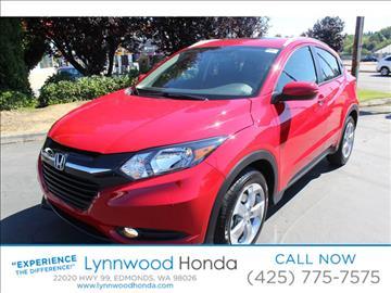 2017 Honda HR-V for sale in Edmonds, WA