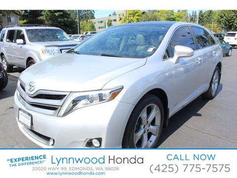 2013 Toyota Venza for sale in Edmonds, WA