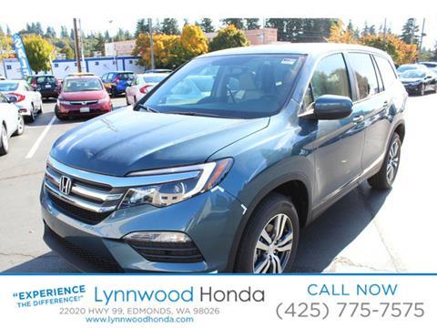 2017 Honda Pilot for sale in Edmonds, WA