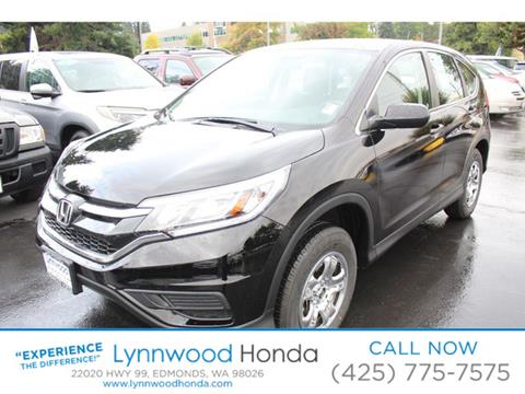 2015 Honda CR-V for sale in Edmonds, WA