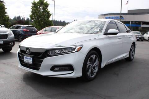 2019 Honda Accord EX for sale at LYNNWOOD HONDA in Edmonds WA