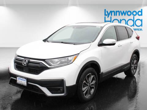 2020 Honda CR-V EX for sale at LYNNWOOD HONDA in Edmonds WA