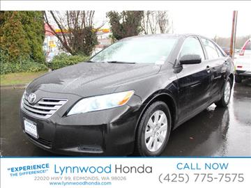 2007 Toyota Camry Hybrid for sale in Edmonds, WA