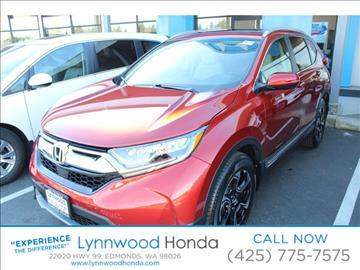 2017 Honda CR-V for sale in Edmonds, WA