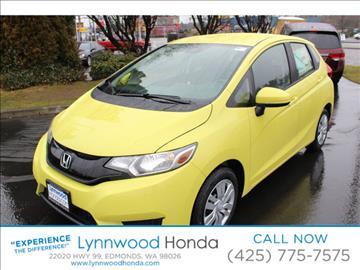 2017 Honda Fit for sale in Edmonds, WA