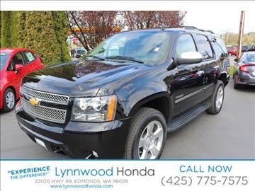 2013 Chevrolet Tahoe for sale in Edmonds, WA