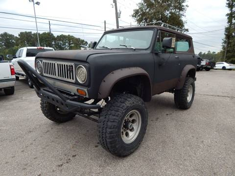 1974 International Scout for sale in Magnolia, TX