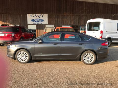 2016 Ford Fusion Hybrid for sale in Clifton, TX