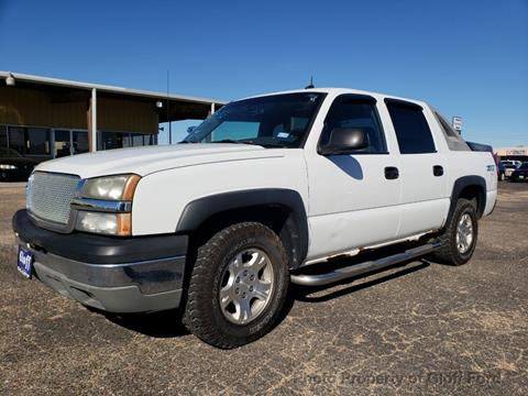 2003 Chevrolet Avalanche for sale in Clifton, TX