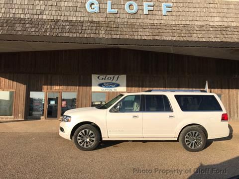 2016 Lincoln Navigator L for sale in Clifton, TX