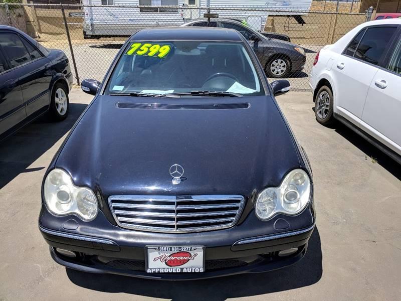 2005 Mercedes Benz C Class C 230 Kompressor 4dr Sedan   Bakersfield CA