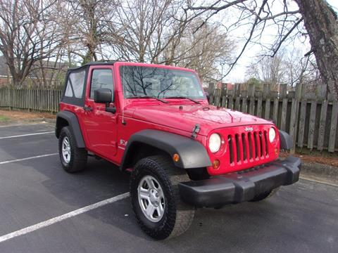 2009 Jeep Wrangler for sale in High Point, NC