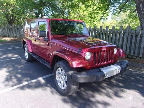 2012 Jeep Wrangler Unlimited for sale in High Point, NC