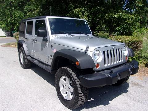 2011 Jeep Wrangler Unlimited for sale in High Point, NC