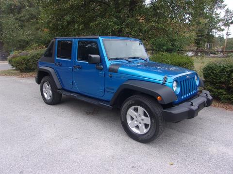 2015 Jeep Wrangler Unlimited for sale in High Point, NC